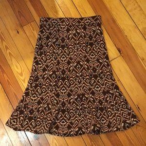 Diane von Furstenberg skirt.